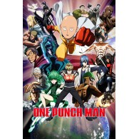 FP4305 ONE PUNCH MAN COLLAGE