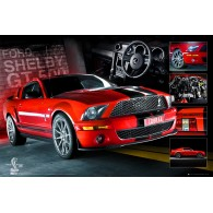 GN0566 EASTON RED MUSTANG
