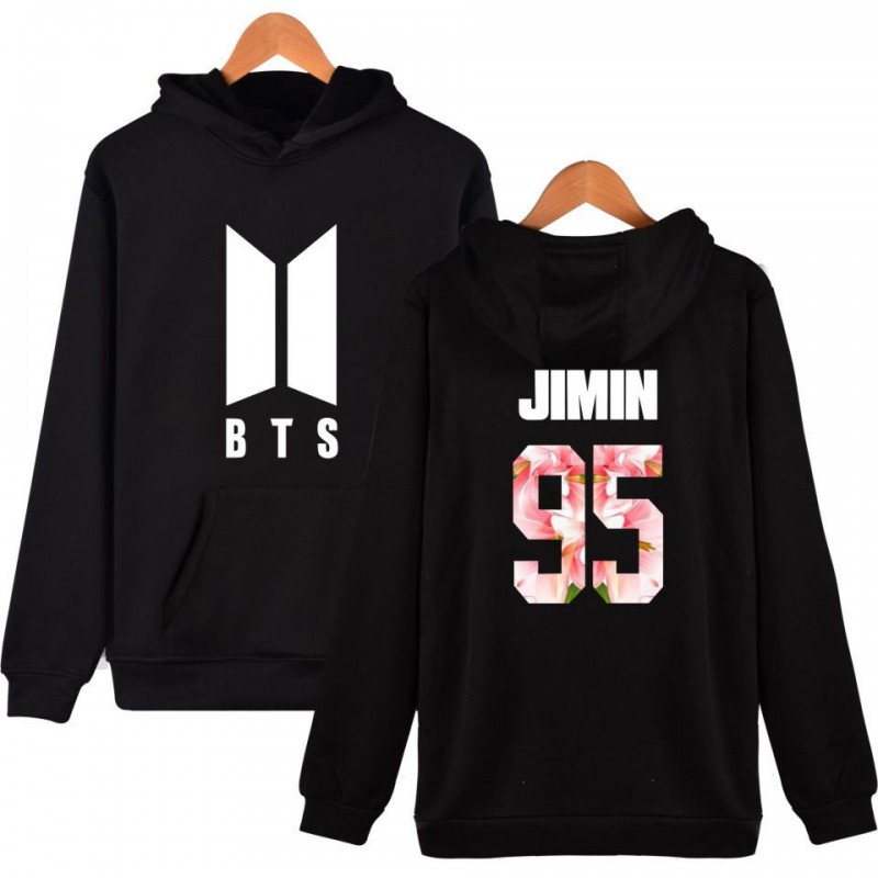 BTS-Sweat à capuche BTS New Logo - JIMIN