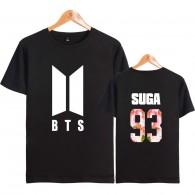 BTS T-Shirt NEW LOGO  Sakura - SUGA 93