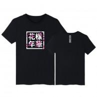BTS T-Shirt LOGO Young Forever Sakura