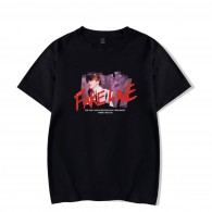 BTS T-Shirt Fake Love Logo Image