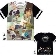 BTS T-Shirt avec Image 9
