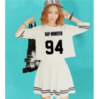 BTS-Ensemble Crop Top + Jupe - RM 94