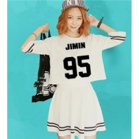 BTS-Ensemble Crop Top + Jupe - JIMIN 95