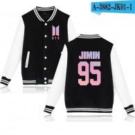 BTS-Teddy BTS Nouveau Logo Rose- JIMIN 95
