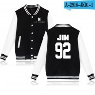 BTS-Teddy BTS Nouveau Logo Blanc- JIN 92