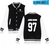 BTS-Teddy BTS Nouveau Logo Blanc- JUNG KOOK 97