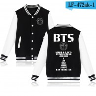 BTS-Teddy BTS Groupe Logo Blanc