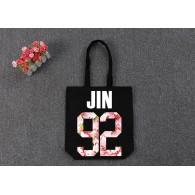 BTS-SAC en TOILE BTS Sakura-JIN 92 Noir