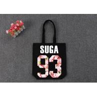 BTS-SAC en TOILE BTS Sakura-SUGA 93 Noir