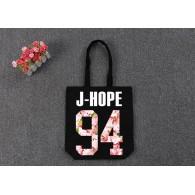 BTS-SAC en TOILE BTS Sakura-J-HOPE 94 Noir