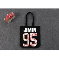BTS-SAC en TOILE BTS Sakura-JIMIN 95 Noir