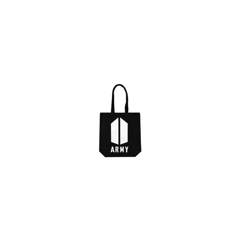 BTS-SAC en TOILE BTS ARMY Noir