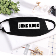 MASQUE - BTS - JUNGKOOK - NOIR BLANC
