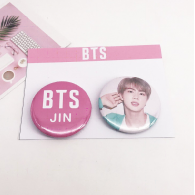 PACK 2 BADGES BTS -JIN (BTS) - MODEL 2