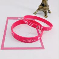 Bracelet Silicone pack 2PCS - BTS