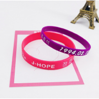 BRACELET SILICONE PACK 2PCS - BTS - J-HOPE