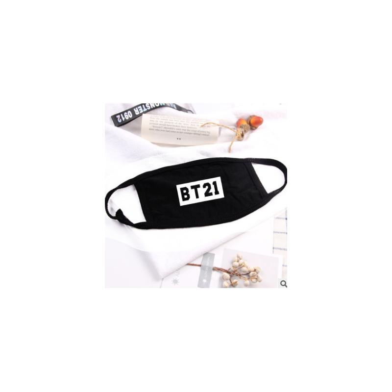 MASQUE - BT21 - NOIR BLANC