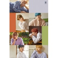 BTS GROUP COLLAGE MAXI POSTER