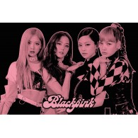 BLACKPINK GROUP PINK MAXI POSTER