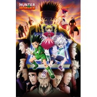 FP4958 HUNTER X HUNTER BOOK KEY ART