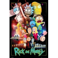 FP4576 RICK AND MORTY WARS