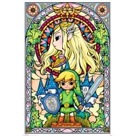PP33735 THE LEGEND OF ZELDA (STAINED GLASS)