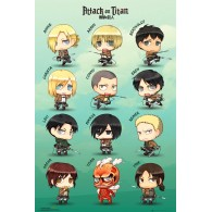 FP3749 ATTACK ON TITAN Chibi Characters