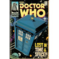 FP3470 DOCTOR WHO TARDIS COMIC