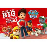PP33835 PAW PATROL (NO PUP IS TOO SMALL)