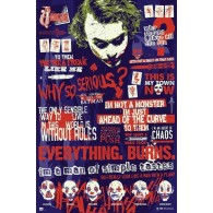GPE4937  POSTER BATMAN THE DARK KNIGHT JOKER QUITOGRAPHIC DARK KNIGHT