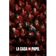 GPE5482 LA CASA DE PAPEL GUERRA