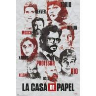 GPE5321 LA CASA DE PAPEL PERSONALE