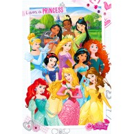 PP33604 DISNEY PRINCESS (I AM A PRINCESS)