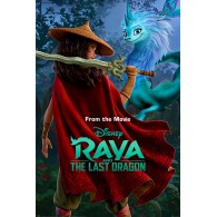 PP34725 RAYA AND THE LAST DRAGON (WARRIOR IN THE WILD)